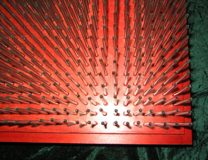 Das Nagelbrett aus Multiplexplatte